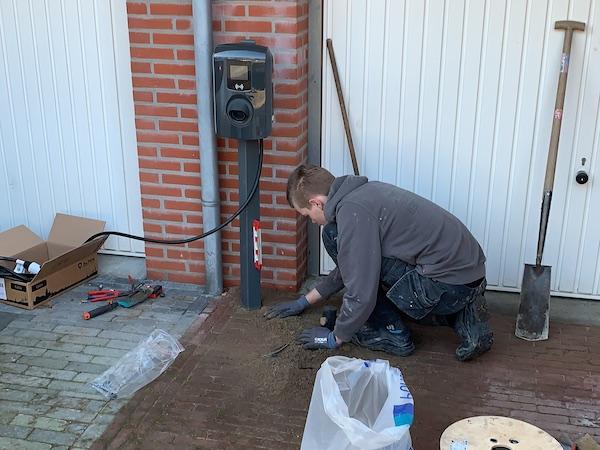 Installatie elektrisch laadpunt aan huis