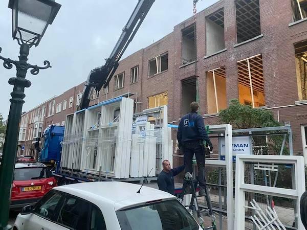 Project hotel van Earssestraat Den Haag neiuwe elektrische installatie