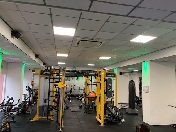 Project verlichting sportschool